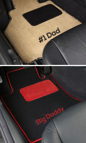 how to make own car mats
