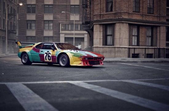 Andy_Warhol_BMW_Art_Car.jpg BMW M1 1979