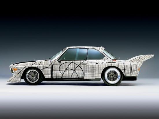 photo: Frank Stella BMW 3.0 CSL 1976 Art Car