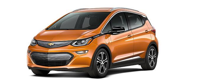 North American Car Of The Year - 2017 Chevy® Bolt EV