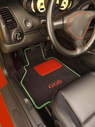 Personalized Car Mats Eye Catching