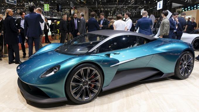 Geneva auto show  2019 Aston Martin