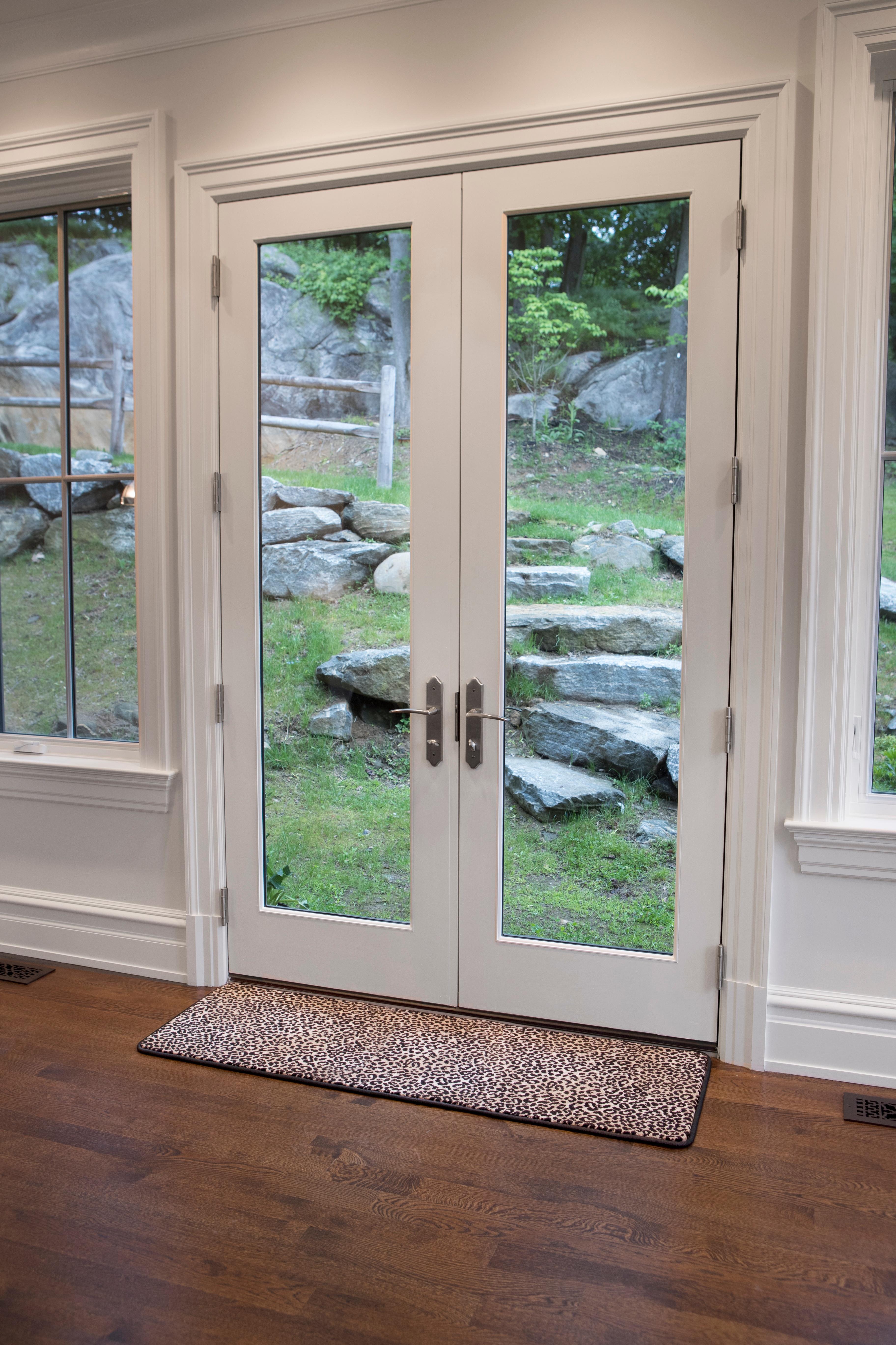 home floor mat leopard