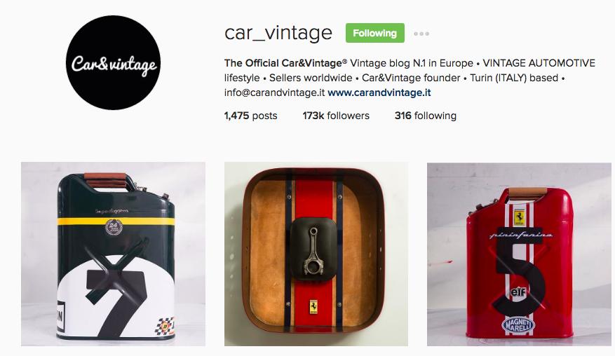 Car_Vintage Instagram