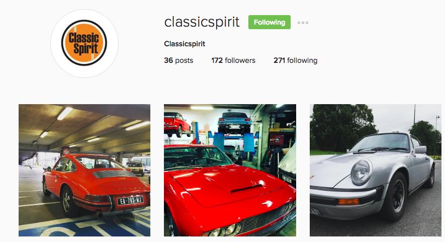 Classicspirit Instagram