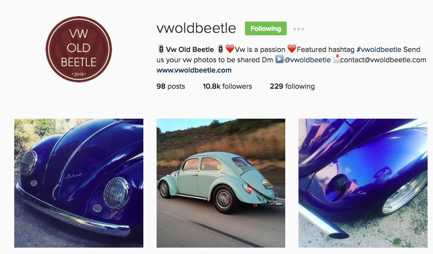vwoldbeetle instagram
