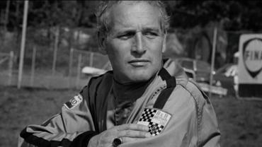 Paul Newman in Racemark International Racing Suit